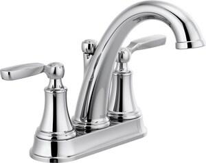 Delta Faucet Woodhurst Two Handle, Delta Fixtures Bathroom