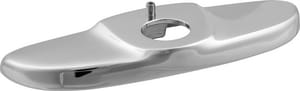 Delta Faucet Commercial 4 in. Deck Plate and Hold Down Package in Polished Chrome D060546A