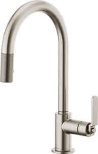 Brizo Litze™ Single Handle Pull Down Kitchen Faucet in Brilliance® Stainless D63044LFSS