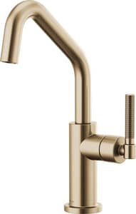 Brizo Litze™ Single Handle Lever Handle Bar Faucet in Luxe Gold D61063LFGL
