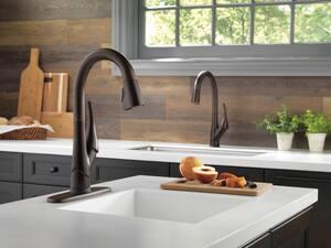 Delta Faucet Esque® Single Lever Handle Bar Faucet in Venetian Bronze D9981TRBDST