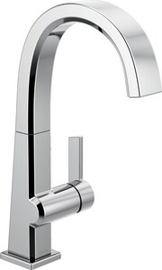 Delta Faucet Pivotal™ Single Handle Lever Handle Bar Faucet in Polished Chrome D1993LF