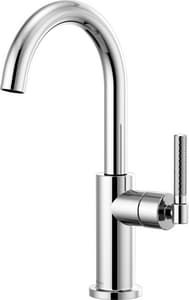 Brizo Litze Single Handle Lever Handle Bar Faucet in Polished Chrome D61043LF