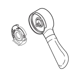 Delta Faucet Lahara® Lever Handle Kit in Brilliance Stainless DRP51306SS