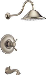 Brizo Traditional® 2.5 gpm Thermostatic Universal Tub and Shower in Brilliance Brushed Nickel (Trim Only) DT60410