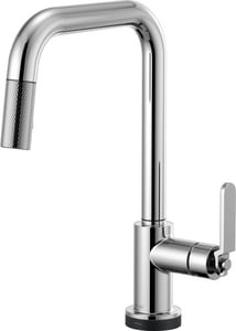 Brizo Litze™ Single Handle Pull Down Kitchen Faucet in Polished Chrome D64054LF