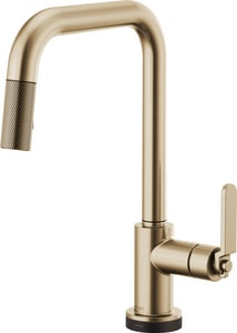 Brizo Litze™ Single Handle Pull Down Kitchen Faucet in Luxe Gold D64054LFGL