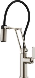 Brizo Litze™ Single Handle Pull Down Kitchen Faucet in Brilliance® Stainless D63244LF