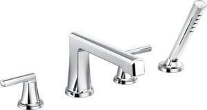 Brizo Levoir™ Roman Tub Faucet in Polished Chrome DT67398PCLHP