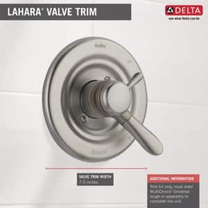 Delta Faucet Lahara® Valve Only Trim in Brilliance Stainless DT17038SS
