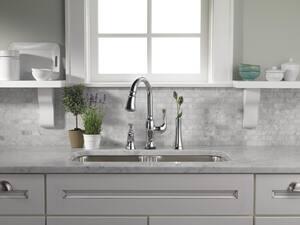 Brizo Baliza® 5-11/16 in. 13 oz Kitchen Soap Dispenser in Polished Nickel DRP50274PN