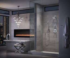 Brizo Virage® Single Handle Bathtub & Shower Faucet in Polished Chrome Trim Only DT60930
