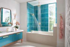 Brizo Levoir™ Single Handle Bathtub & Shower Faucet in Polished Nickel (Trim Only) DT66698PN
