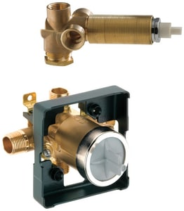 Delta Faucet Multichoice® 1/2 in. MNPT and Female Sweat Pressure Balancing Valve DR10700UNWS