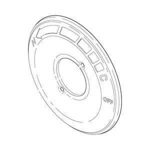 Delta Faucet Escutcheon in Polished Chrome DRP61184