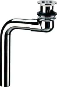 Delta Faucet Commercial Offset Hooded Open Grid Strainer in Polished Chrome D33T290