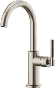 Brizo Litze™ Single Handle Lever Handle Bar Faucet in Stainless D61043LFSS