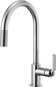 Brizo Litze™ Single Handle Pull Down Kitchen Faucet in Polished Chrome D63044LFPC