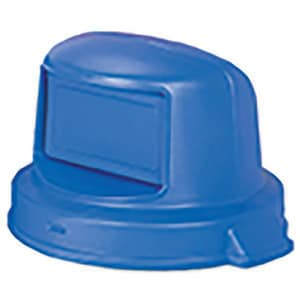 Continental Commercial Products Huskee™ 26 x 18 in. Lid only Dome Top in Blue for 44 gal Receptacle C4456BL