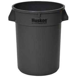 Continental Commercial Products Huskee™ HUSKEE RND RECEPT 32G GREY C3200GY