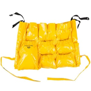 Continental Commercial Products Huskee™ VINYL RECEPT CADDY BAG YELL C3175
