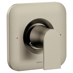 Moen Genta™ Single Handle Bathtub & Shower Faucet in Brushed Nickel (Trim Only) MT2471BN