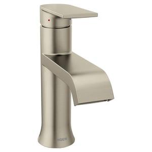 Moen Genta™ Single Handle Centerset Bathroom Sink Faucet in Brushed Nickel M6702BN