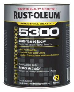 Rust-Oleum® 1 gal Water Based Epoxy Primer Activator Paint R5303502