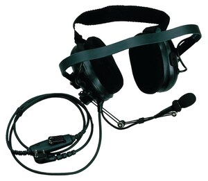 Kenwood Heavy Duty Noise Reduction Headset in Black KKHS10BH at Pollardwater