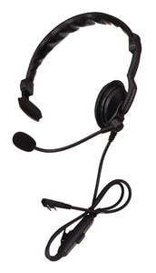 Kenwood Single Muff Headset in Black KKHS7A at Pollardwater