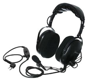 Kenwood Heavy Duty Noise Reduction Headset in Black KKHS10OH at Pollardwater