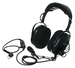 Kenwood Heavy Duty Noise Reduction Headset in Black KKHS10OH at Pollardwater