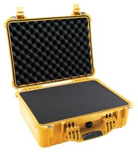 Pelican 19-39/50 x 15-77/100 in. Polypropylene Tool Case in Yellow P1520000240
