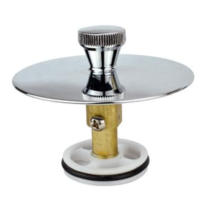 Keeney Cover Up Bath Drain Stopper in Polished Chrome KEEK826-36PC