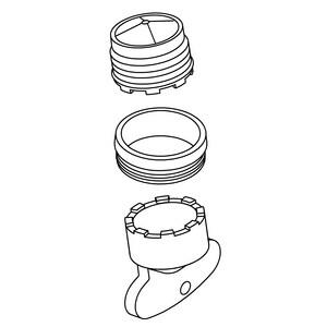 KOHLER Aerator Kit in Vibrant Polished Nickel K1290229-SN