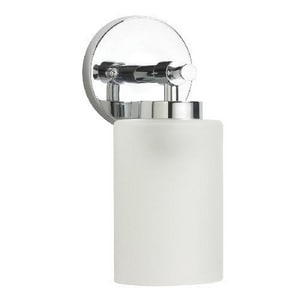 Mirabelle® Edenton 1 Light 60W Up/Down Facing Bathroom Wall Sconce Polished Chrome MIRMLED1LGT