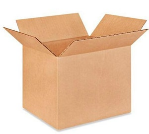 9 x 7 x 7 in. Kraft Regular Slotted Carton (Bundle of 25) B977