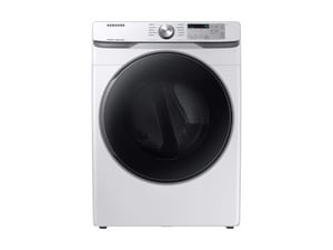 Samsung Electronics 7.5 cf 10-Cycle Electric Front Load Dryer in White SDVE45R6100WA3