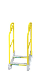 ErectaStep® 27 in. Aluminum 2 Step Stair E90002B