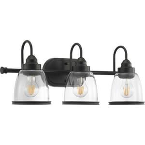 Progress Lighting Saluda 120W 3-Light Medium E-26 LED Vanity Fixture in Antique Bronze PP300180020