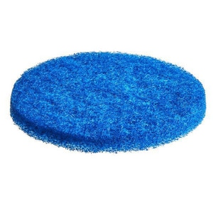 Motorscrubber Dry Buffing Scrubber Pad in Blue for JET Handheld Scrubber (Case of 10) MMS1068