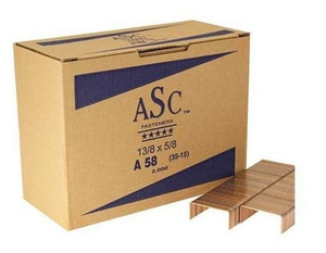 Ample Supply Company 5/8 x 1-3/8 in. Staples (Case of 20000) A138X58ASC