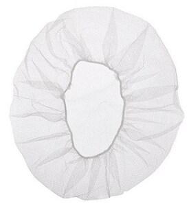 Keystone Adjustable Cap 24 in. Nylon Heavyweight Honeycomb Hole Soft Hair Net in White K109HPI24WHITE