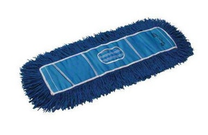 Golden Star Mops Infinity Twist® 24 x 5 in. Yarn Dust Mop in Blue GAQC24CITB