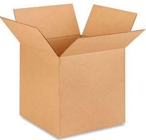 14 x 14 x 14 in. Kraft Regular Slotted Carton with 32ECT P266056