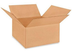 20 x 20 x 10 in. Kraft Regular Slotted Carton with 48ECT P279179