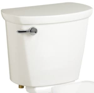 American Standard Cadet® Pro™ 1.28 gpf Toilet Tank with Left-Hand Trip Lever in White A4188A104020
