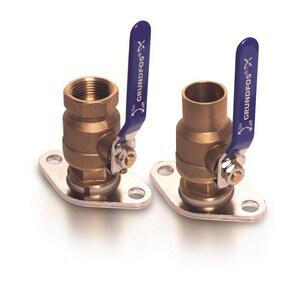 Grundfos 1/2 in. Bronze Sweat Valve Kit G96806134