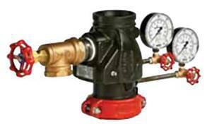 Victaulic FireLock™ Style 717 4 in. Grooved Riser  Check Valve VV040717PE2