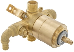 PROFLO® Accufit 1/2 in. PEX Crimp Tub and Shower Valve with Stop PF4001P90